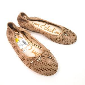 SAM EDELMAN Felicia 2 Ballet Flats NWOB Size 6.5
